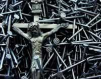 Crucifix and nails
