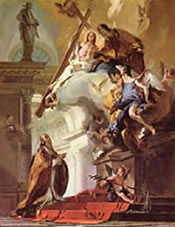 Saint Clement, by Tiepolo