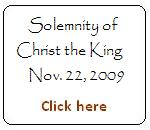 Solemnety of Christ the King - Year B