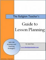 Religion Teacher lesson planning