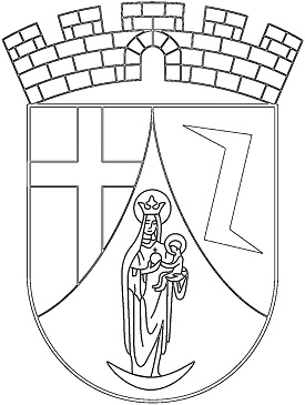 coat of arms madonna coloring page